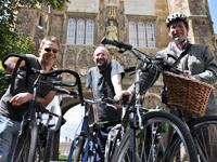 CAD Schroer's Cambridge staff also joined the cycle campaign for Ethiopian schools