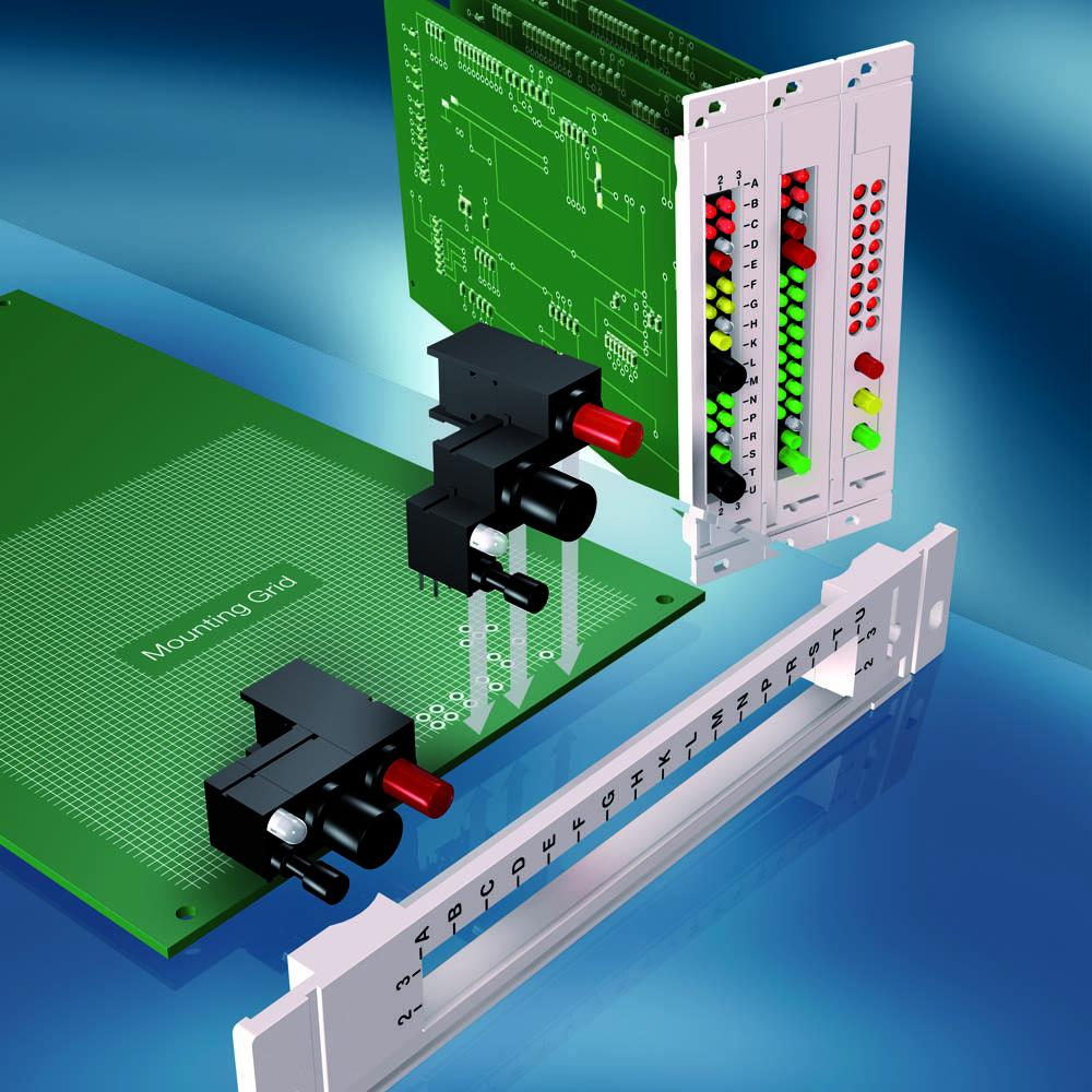 THT - FEL Front Panel System and Standard Panel Components