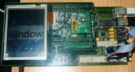 TritonCAM mounted on triton development Systems