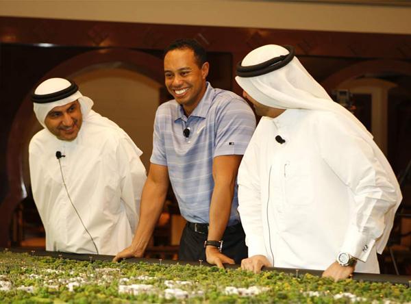 Tiger Woods Dubai golf course shelved