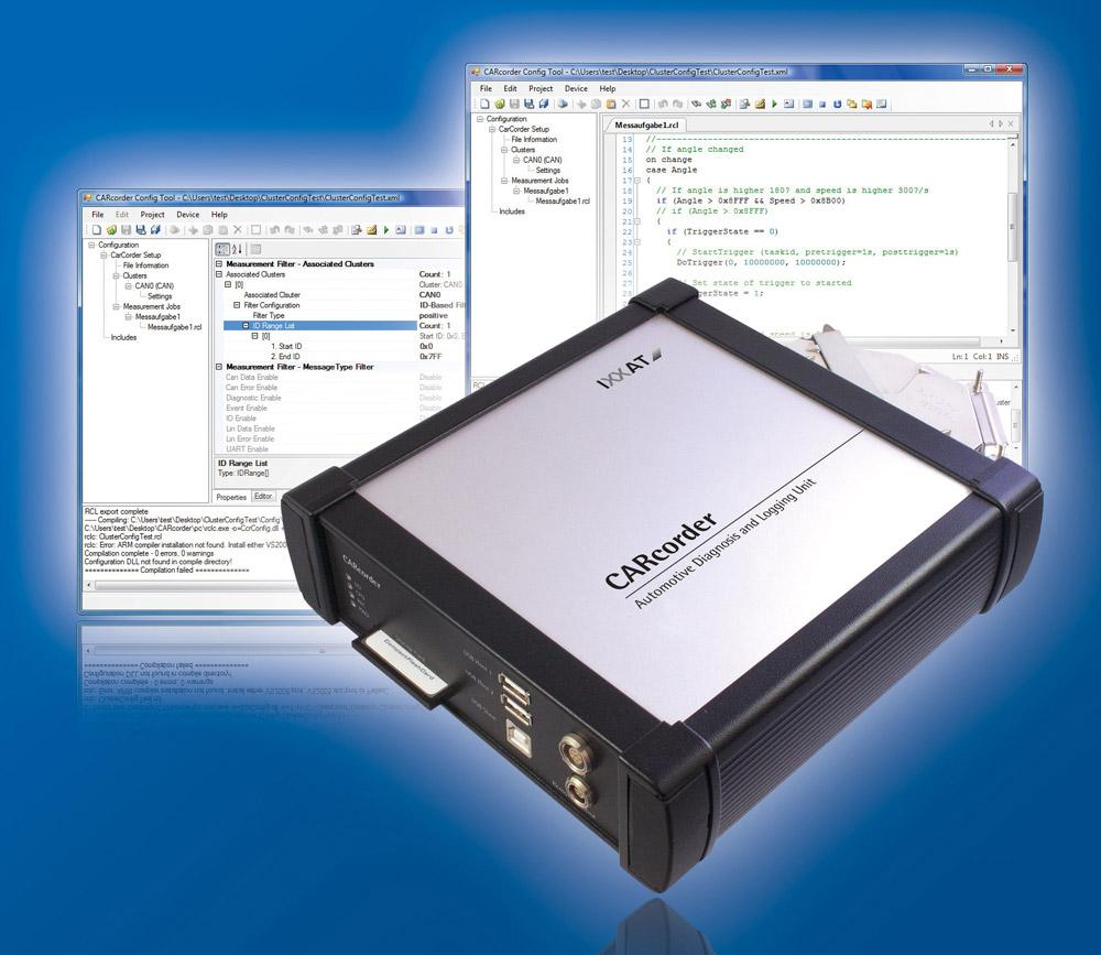 CARcorder - Data logger for FlexRay and CAN