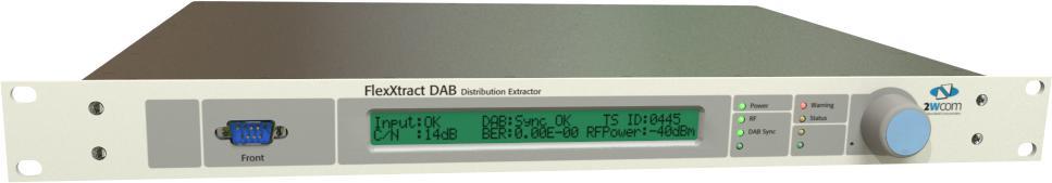2wcom FlexXtract DAB+ Distribution Extractor