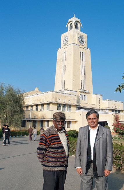 Proud to be BITSian Jiten Divgi with Prof BR Natarajan Vice President BITSAA