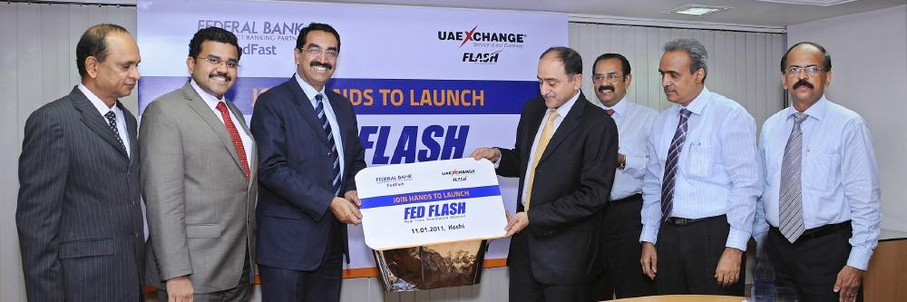 During the launch of Fed Flash