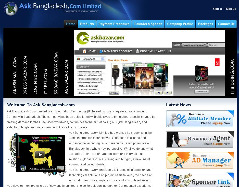 Ask Bangladesh.Com - Largest IT services company Bangladesh.
