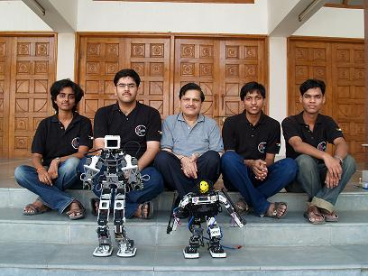 acYut Team from BITS Pilani for Robogames 2009