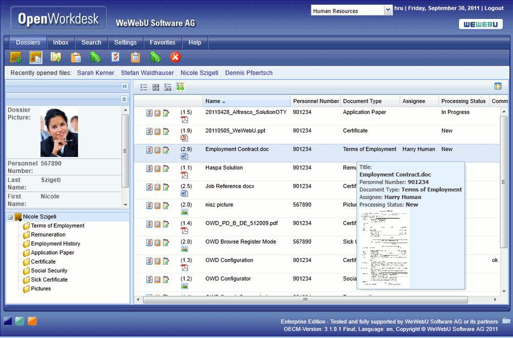 WeWebU OpenWorkdesk