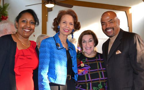 Donna Ford, Phoebe Beasley, Lyn Spector and Henri Ford