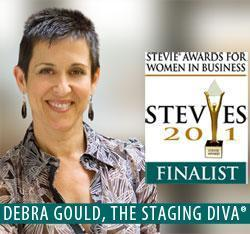 Debra Gould, Stevie Awards Finalist