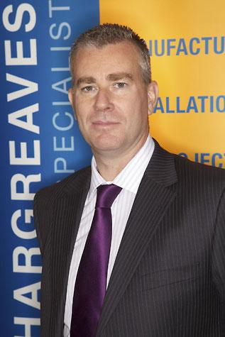 Tim Hopkinson is keen to build on on Hargreaves strong position in the construction market.