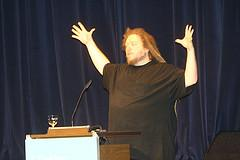 Jaron Lanier, a computer scientist and artist, warned against a fanatical and totalitarian belief in the power of technology