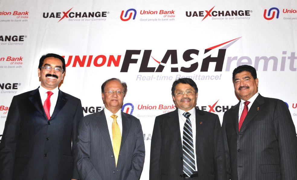 During the Launch of Union Flash Remit