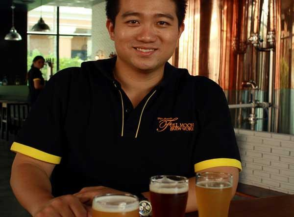 The Full Moon brewery in Patong, Phuket, Thailand