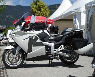 BMW K1200GT Conversion by Hornig