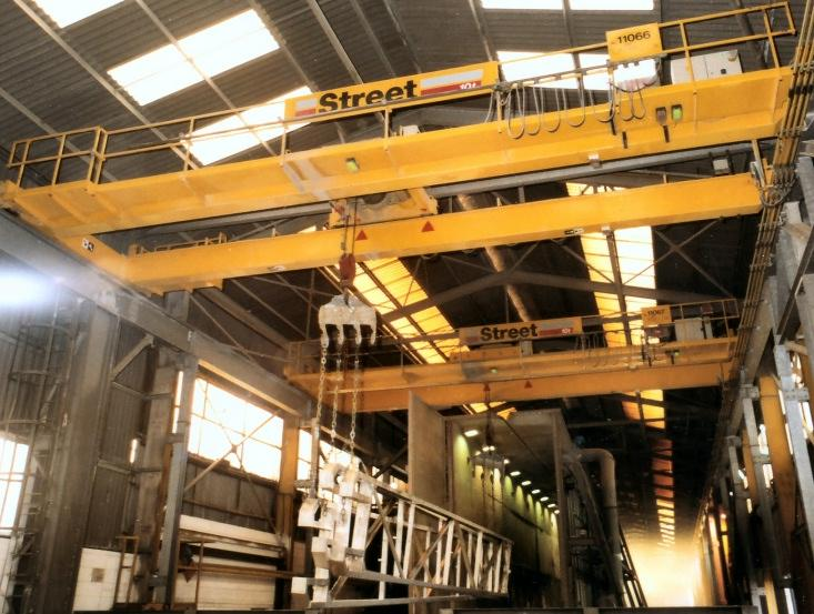 At Worksop, Wedge operates the longest galvanizing bath in Europe