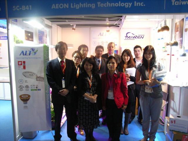 ALT Staff at H.K. Light Fair
