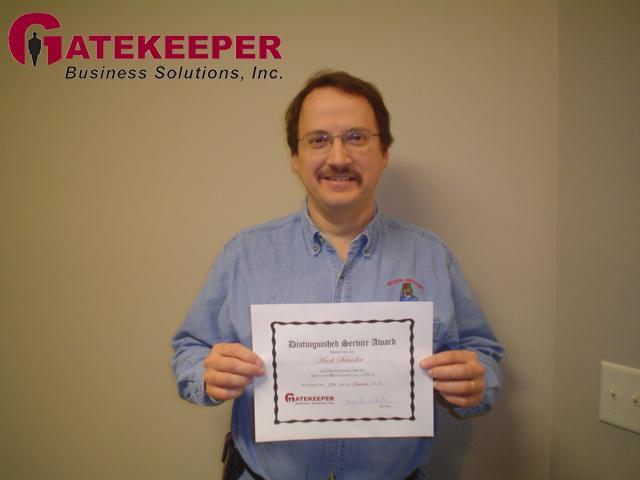 Mark Scheidler, Client Trainer, Gatekeeper Business Solutions, Inc.