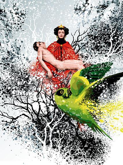 The Snow Queen by Chris von Steiner
