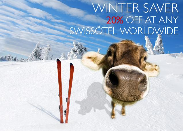 Save 20% with the Swissôtel Winter Saver