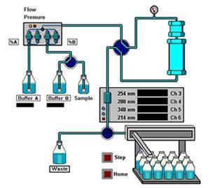 Kronlab - FAT for binary prep. HPLC-System