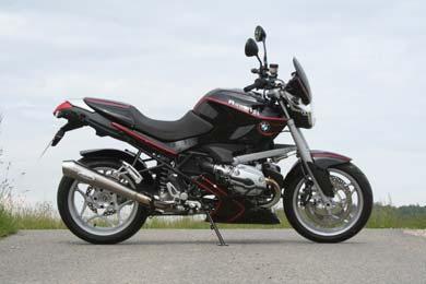 BMW R1200R conversion by Hornig