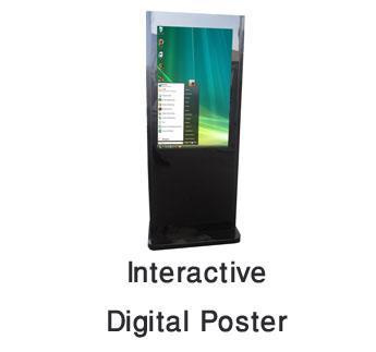 Interactive Digital Poster