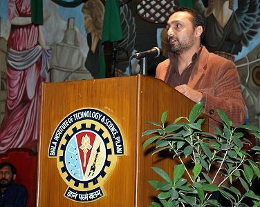 Rahul Bose unfolds his I have a Dream Speech at BITS Pilani OASIS 2009