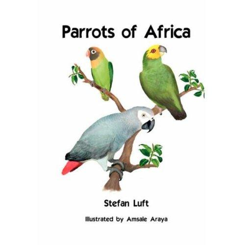The new handbook about African parrots is available now.