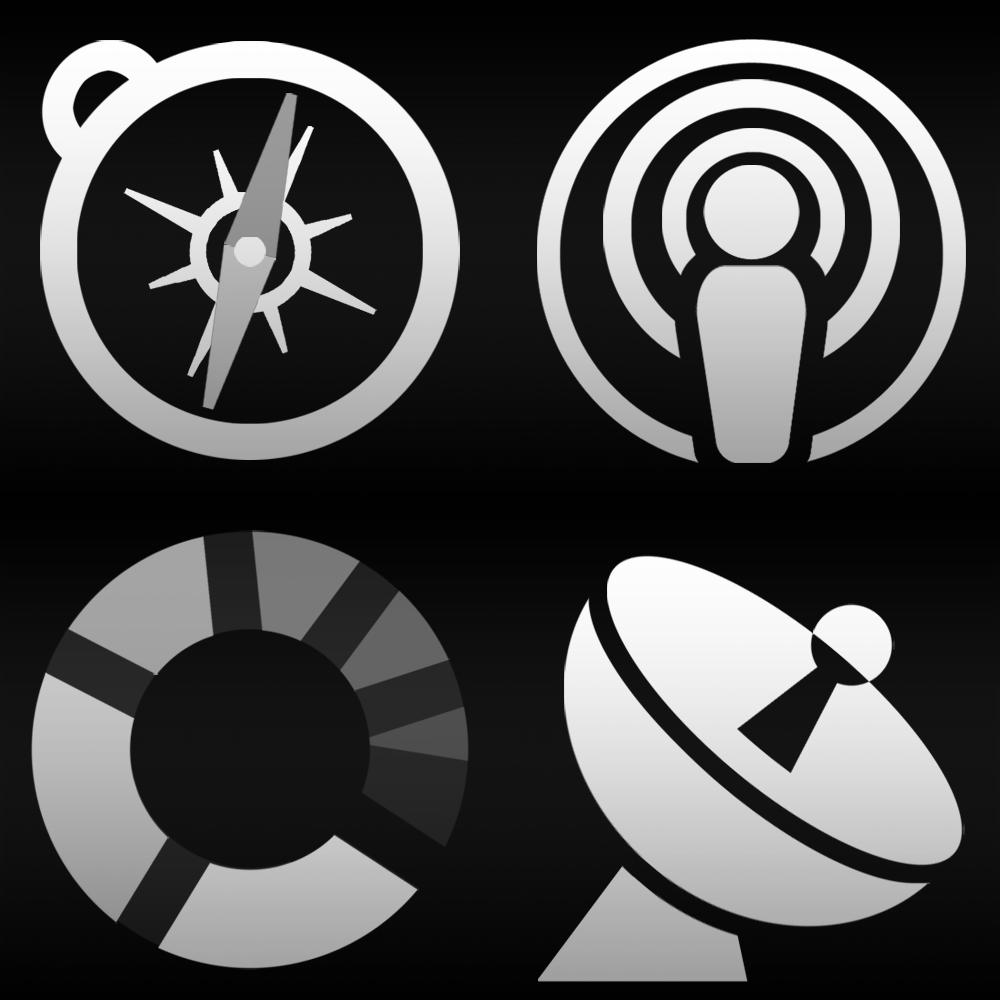 Some new icons taken from the tab bar icon collection for iPhone-apps and iPad-apps