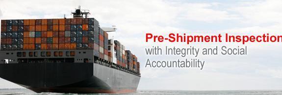 Pre-Shipment Inspection Certification, Pre Shipment
