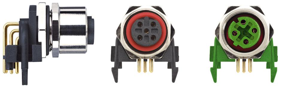 The new PCB-Round Connectors from ESCHA.