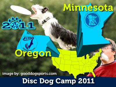 Pawsitive Vybe Sprint Across America! Disc Dog Camps with Ron Watson and Apryl Lea.