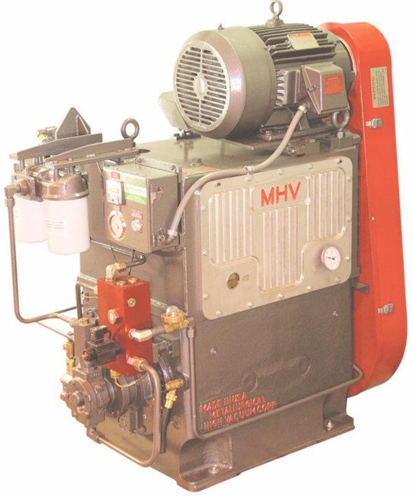 MHV  HS-430 Vacuum Pump for Tough Heat Treating Applications